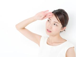 スキンケア・若い女性