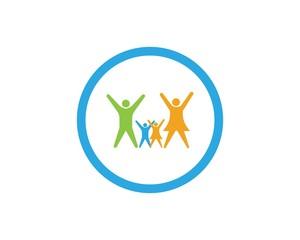 Family care logo Template