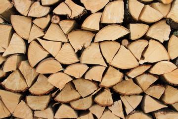 gespaltenes Feuerholz 4