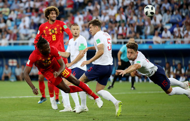 World Cup - Group G - England vs Belgium