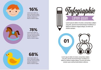 Childrens Infographic Layout