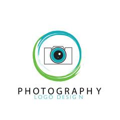 Photography Logo Design Symbol Vector