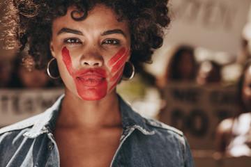 Obraz Stop domestic violence and abuse on women - fototapety do salonu