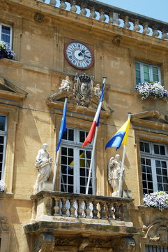 Hôtel de Ville de Salon de Provence, département des Bouches-du-Rhône, France