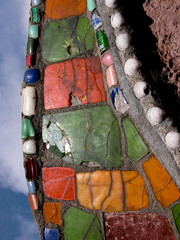 Colorful Watts Tower