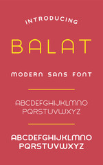 Balat Sans Font (Bold & Thin)