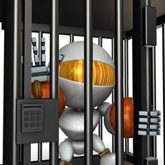 投獄され拘束された人工知能