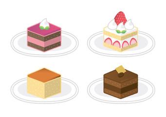 ケーキ いろいろ