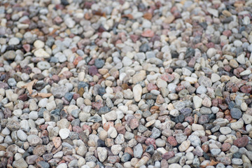 multicolored gravel background texture
