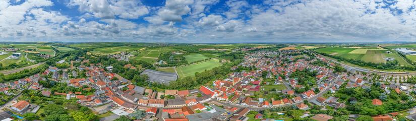 Luftbild Monsheim im Wonnegau