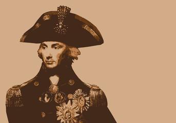 Amiral Nelson - portrait - Anglais - personnage célèbre - personnage - historique - bataille