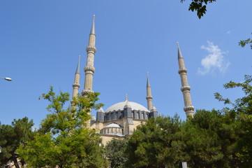 Mimar Sinan's Selimiye Mosque, Edirne, Turkey