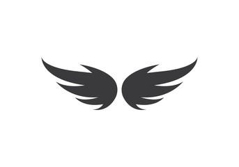 Wing bird Logo Template