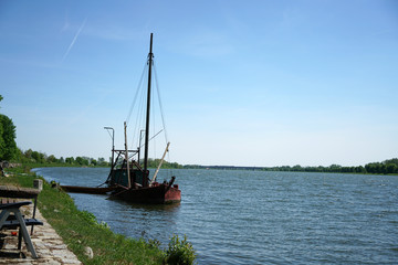 The Danube, here near Regensburg in Germany, is one of the oldest and most important European trade routes, combining different cultures