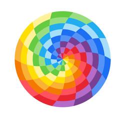 Rainbow Circle Logo