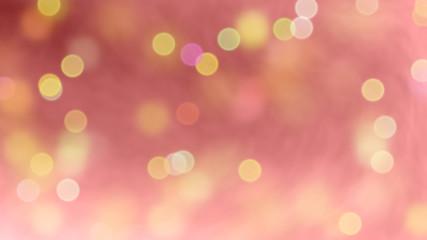 Rose, frisse achtergrond met feestelijke bellen