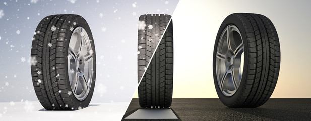 Summer Winter Tires