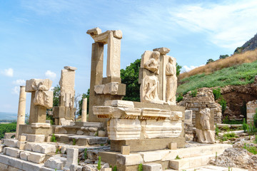 Ruins of Historical Ephesus Ancient City