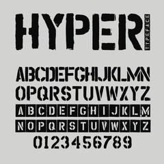 Hyper Typeface