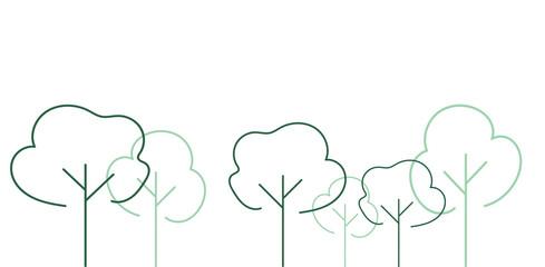 natura, alberi, albero, foresta, bosco,