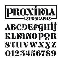 Proxima Typography
