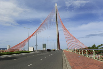 Pont à Danang au Vietnam