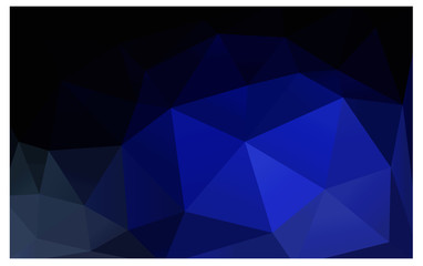DARK BLUE vector abstract background.