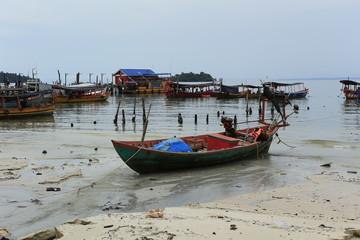Paysage de l'île de Koh Rong au Cambodge