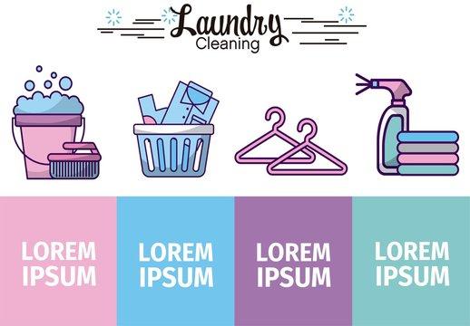Laundry Infographic Layout