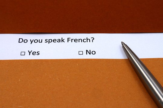 Do You Speak French Photos Royalty Free Images Graphics Vectors Videos Adobe Stock