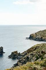 A lighthouse on the coast of Cadaqués, Spain