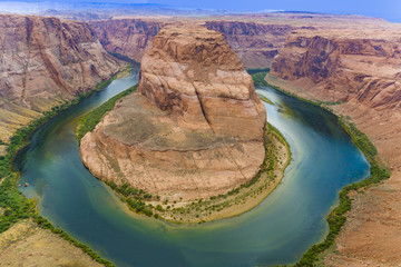 Horseshoe Bend in Colorado river, Arizona, United States