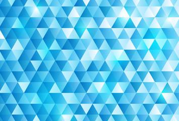 青 トライアングル 背景
