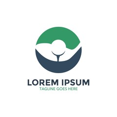 unique golf logo template