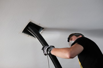 Air duct cleaning, hvac