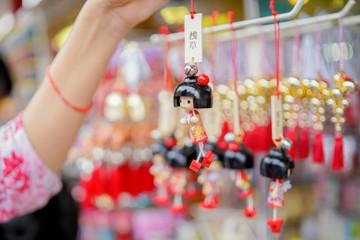 Zelfklevend Fotobehang Asia land Asakusa Souvenirs