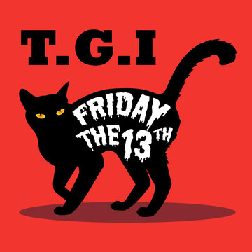 black cat and friday the 13th