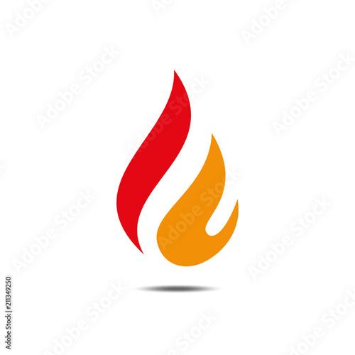 b2e29c411b best letter F logo Concept Fire