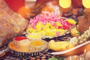Indian Traditional Concept - Kumkum and Manjal
