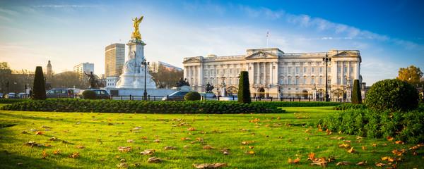 Buckingham Palace in autumn - London, United Kingdom