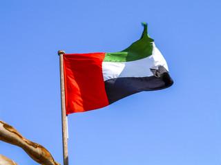 Dubai, flag, United Arab Emirates