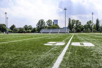 American Football field, 50