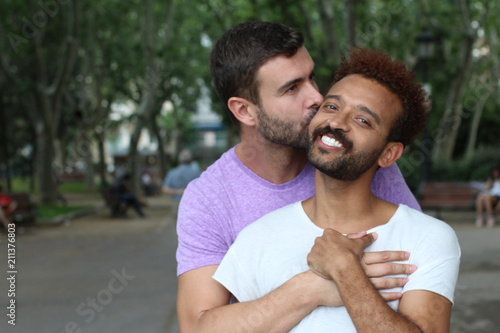 Interracial gay dating