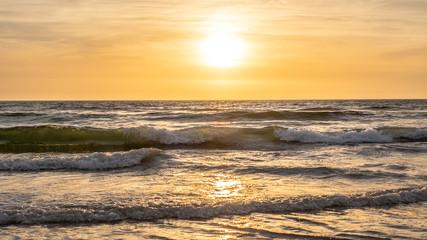 Keuken foto achterwand Grijs Sunset