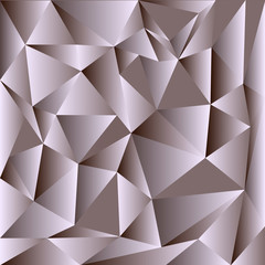 Light Gray vector shining triangular backdrop. Colorful illustration in abstract style with triangles. Triangular pattern for your design.