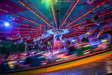 Amusement Park by Night