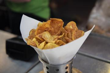 Fresh and Handmade Potato Chips