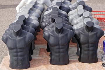 Men torso mannequin