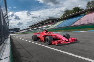 Door stickers Motor sports Formel Rennwagen auf der Startgeraden