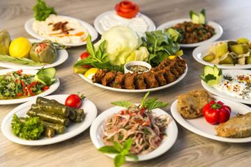 Cigköfte concept from Turkey for restaurant or cafe.